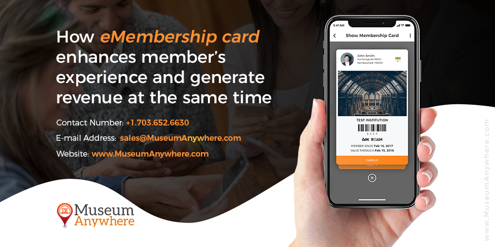 How eMembership card enhances member's experience and generate revenue at the same time