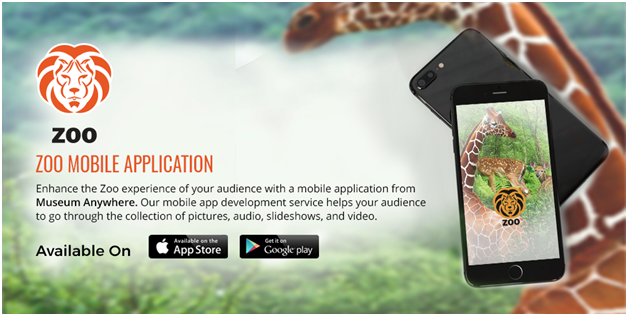 Mobile App for Zoo Museums and Science Centers