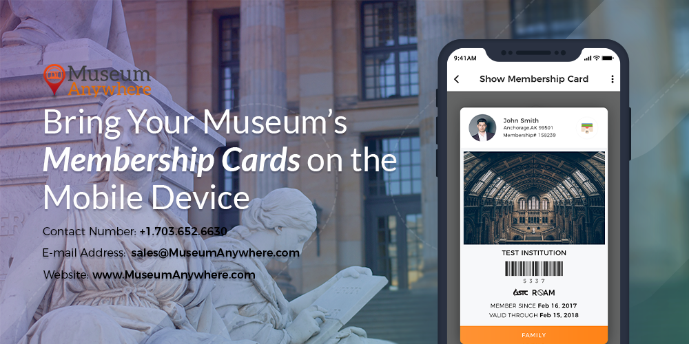 Bring Your Museum's Membership Cards on the Mobile Device