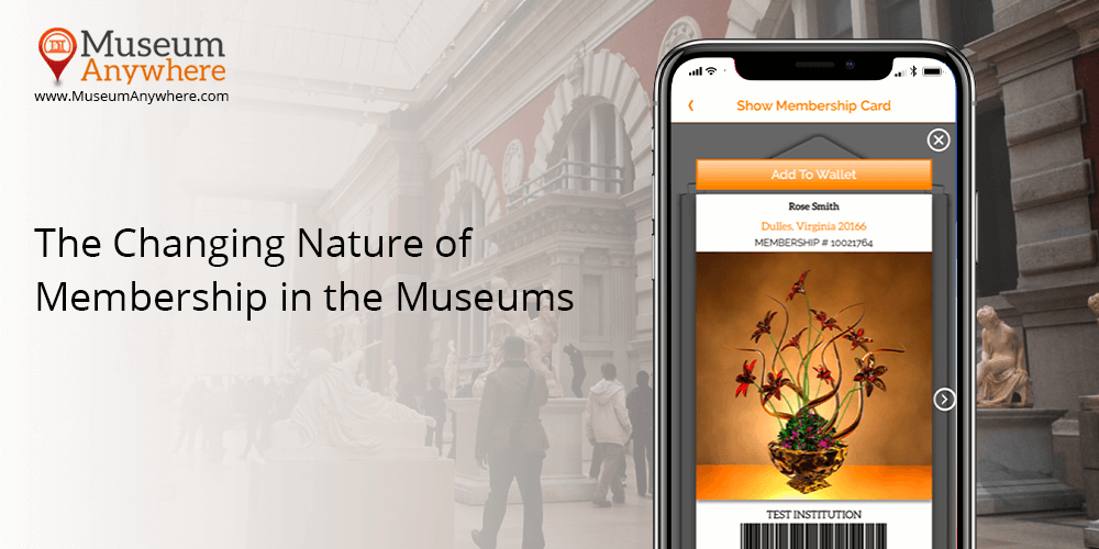 The Changing Nature of Membership in the Museums