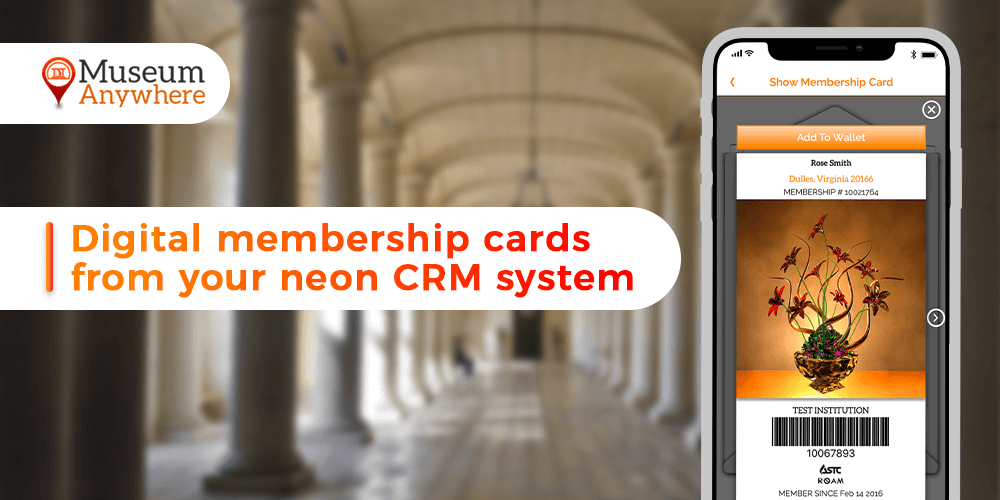 Digital Membership cards from your Neon CRM System