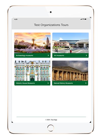 Cellphone Tour App